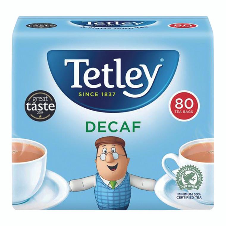 TL15012 Tetley Decaffeinated Tea Bag Pack 80 5012X