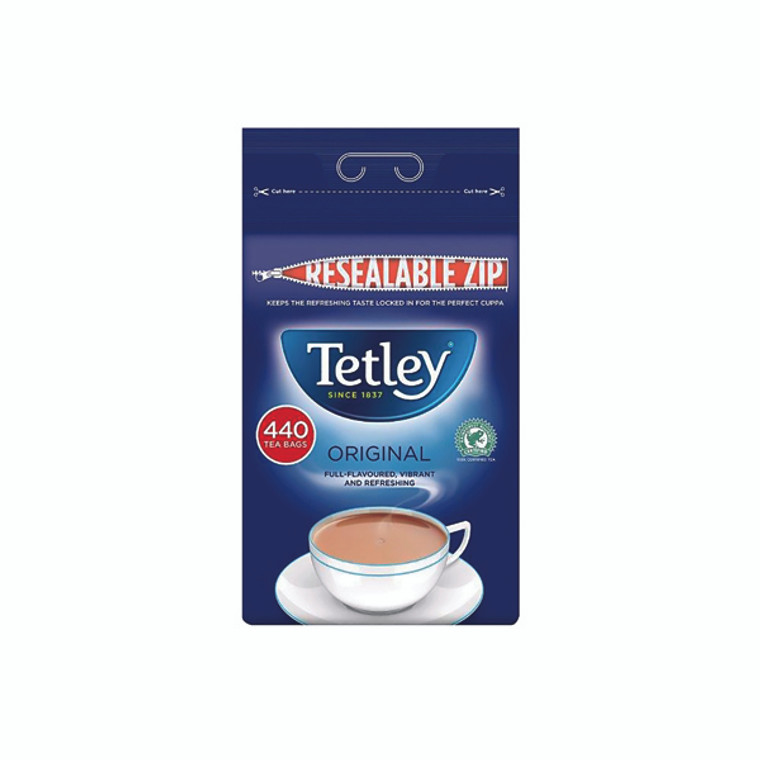 AU03840 Tetley One Cup Tea Bag Pack 440 A01352