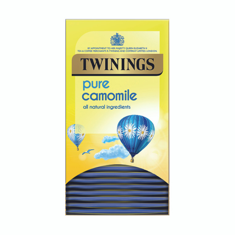TQ82494 Twinings Pure Camomile Herbal Infusion Tea Bags Pack 20 F14379