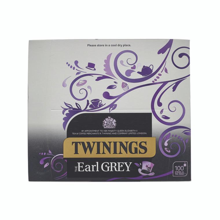 BZ02050 Twinings Earl Grey String Tag Tea Bags Pack 100 F09363