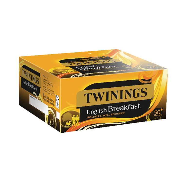 TQ85534 Twinings English Breakfast Envelope Tea Bags Pack 300 F09583