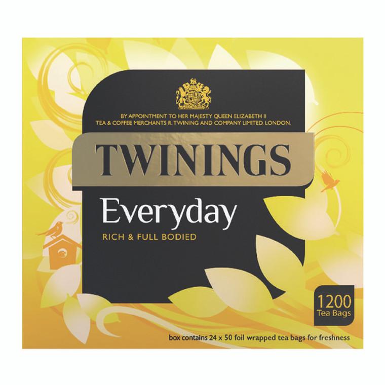 TQ15645 Twinings Everyday Tea Bag Pack 1200 Bags PkF13681