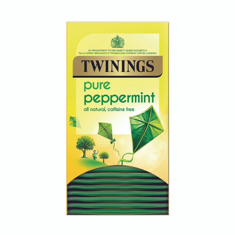 TQ82489 Twinings Pure Peppermint Herbal Infusion Tea Bags Pack 20 F09612