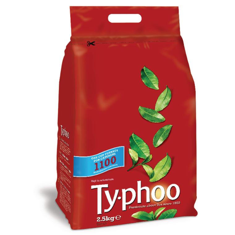 AU60721 Typhoo One Cup Tea Bag Pack 1100 CB029