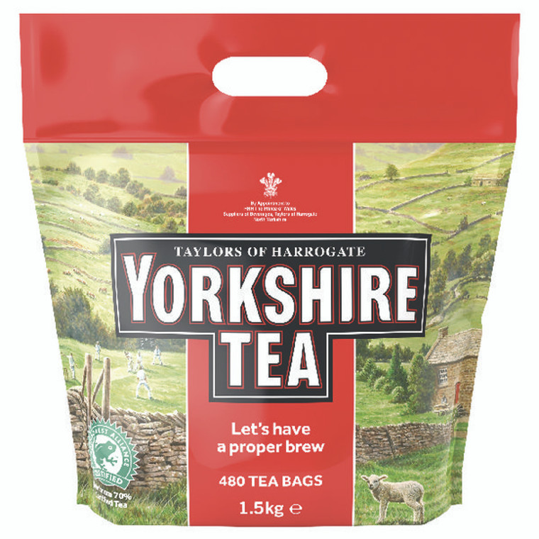 BZ11835 Yorkshire Tea Soft Water Tea Bags Pack 480 1127