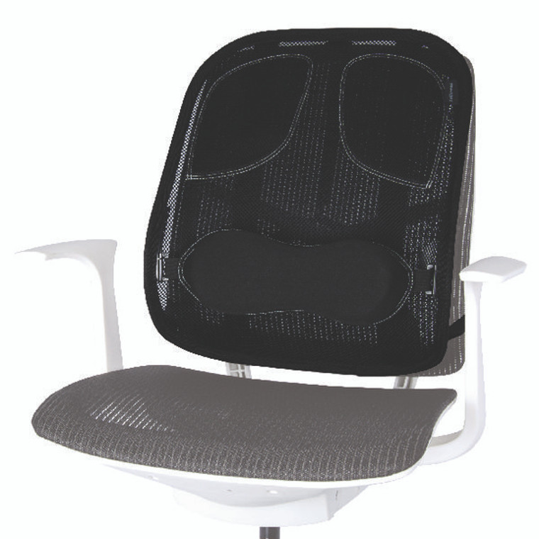 BB60096 Fellowes Professional Series Mesh Back Support Black 8029901