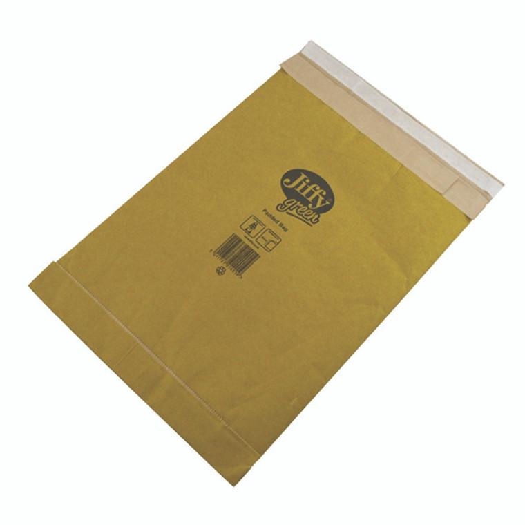 JFMP3 Jiffy Padded Bag Size 3 195x343mm Gold PB-3 Pack 10 JPB-AMP-3-10