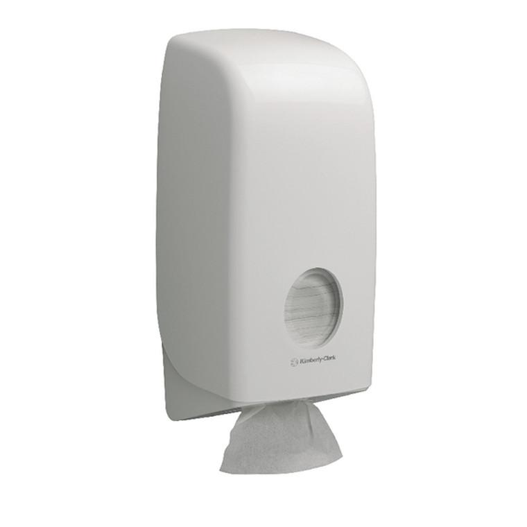 KC01181 Aquarius Bulk Pack Toilet Tissue Dispenser White 6946