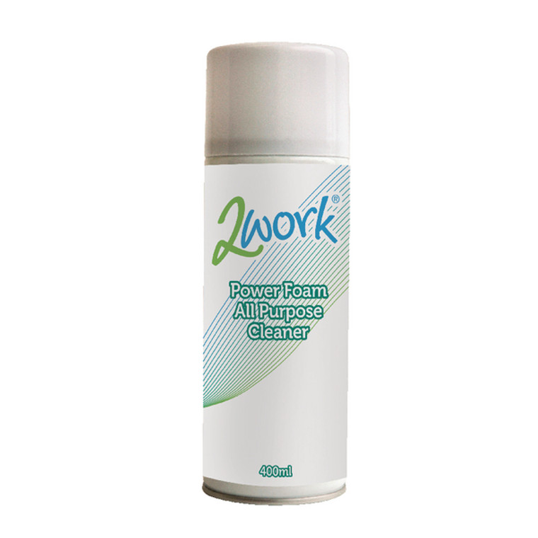 DB57168 2Work Power Foam All Purpose Cleaner 400ml DB57168