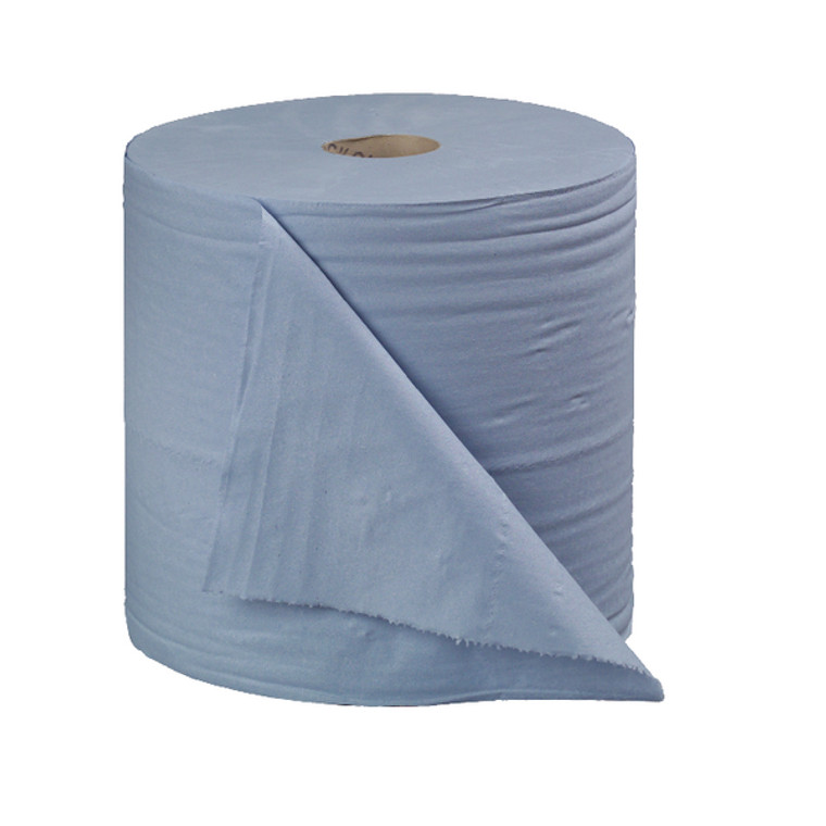 CT34137 2Work 2-Ply Forecourt Roll 400m Blue Pack 2 CT34137