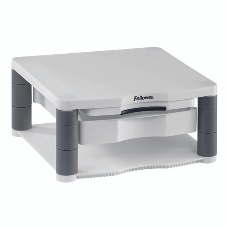 BB91713 Fellowes Premium Monitor Riser Plus Black Contains storage drawer built in copyholder 9171302