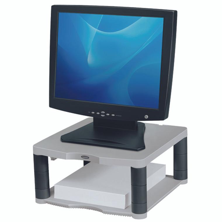 BB91717 Fellowes Premium Monitor Riser Platinum 91717
