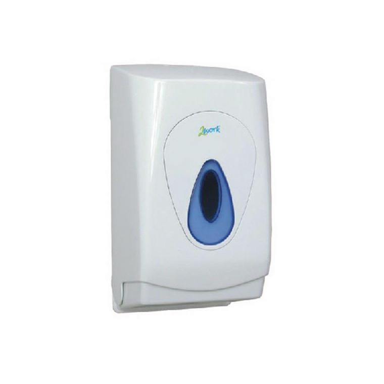 CPD97304 2Work Bulk Pack Toilet Tissue Dispenser CPD97304