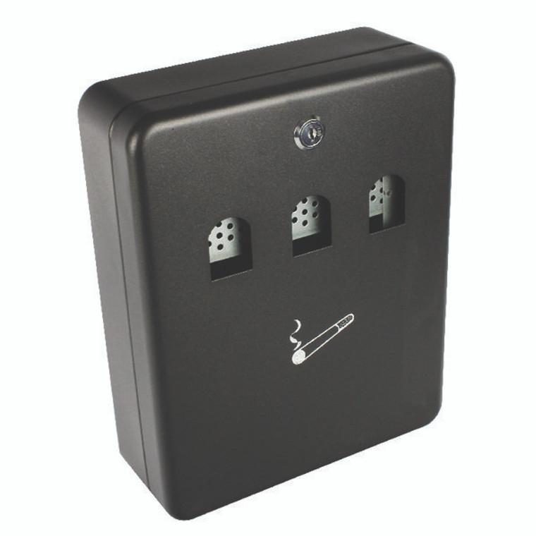 KF04271 Q-Connect Ash Bin Black 2 7 Litre KF04271