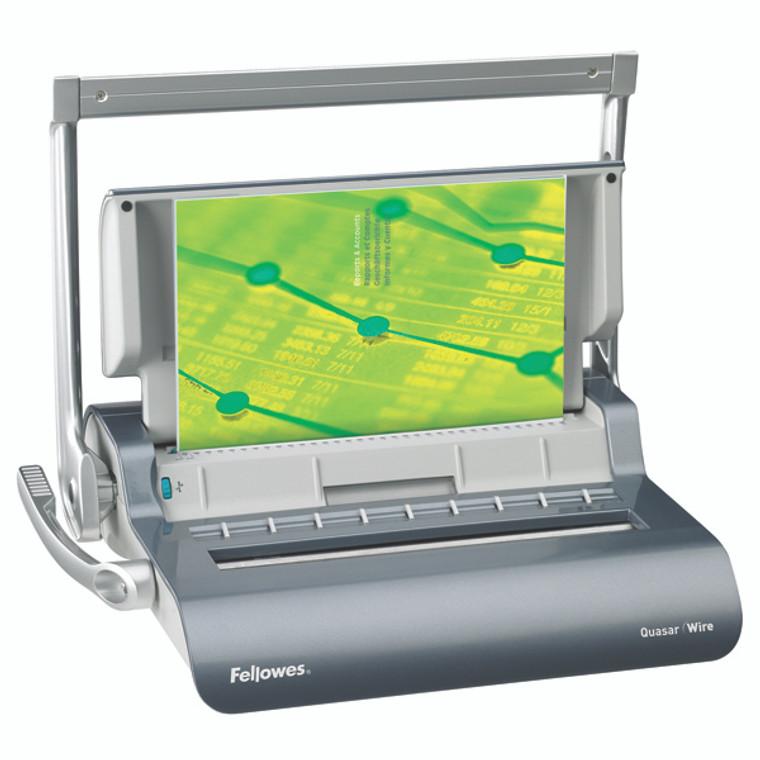 BB53001 Fellowes Quasar Manual Wire Binding Machine 5224101