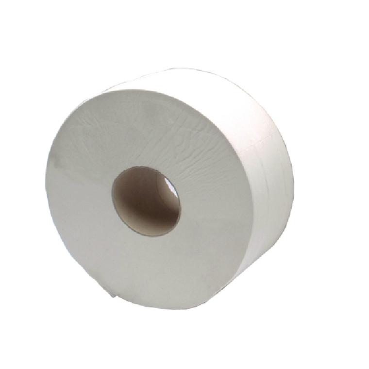 KF03810 2Work 2-Ply Jumbo Toilet Roll 60mm Core Pack 6 J26400VW