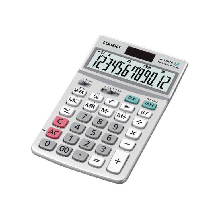 CS18569 Casio 12-Digit Display Desktop Calculator JF-120ECO