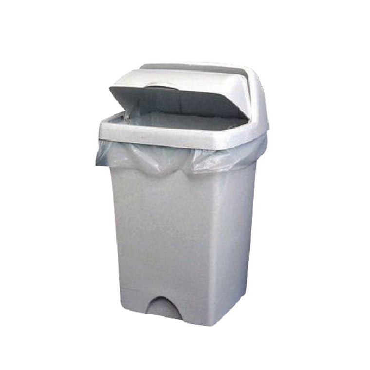 KF73379 2Work Swing Bin Liner 45 Litre White Pack 1000 KF73379