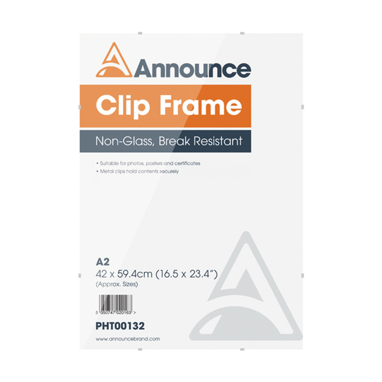 PHT00132 Announce Metal Clip Frame A2 PHT00132