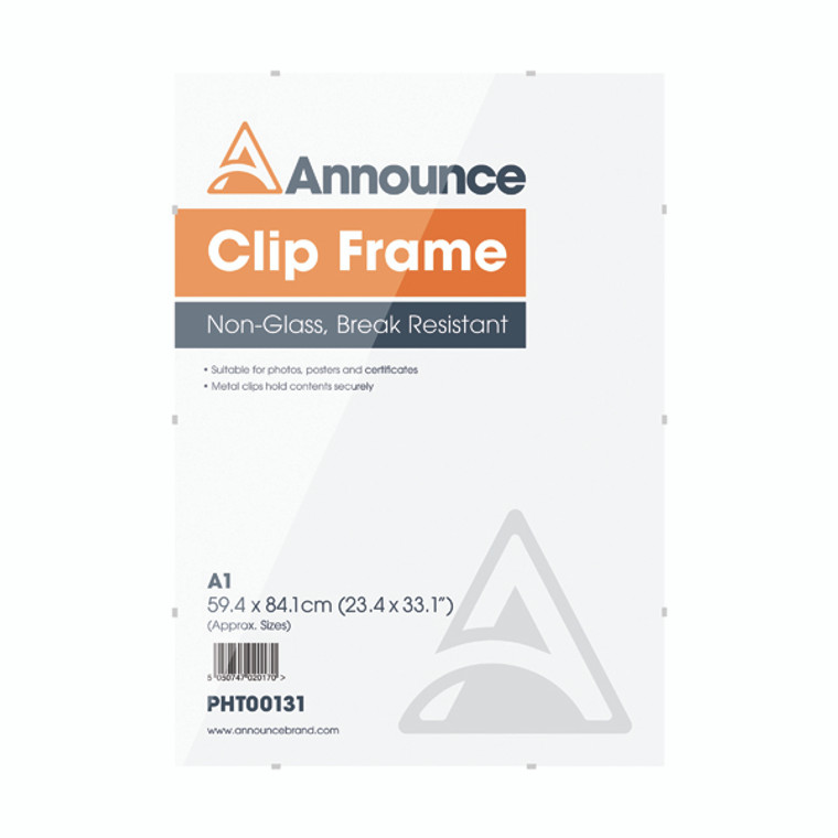 PHT00131 Announce Metal Clip Frame A1 PHT00131