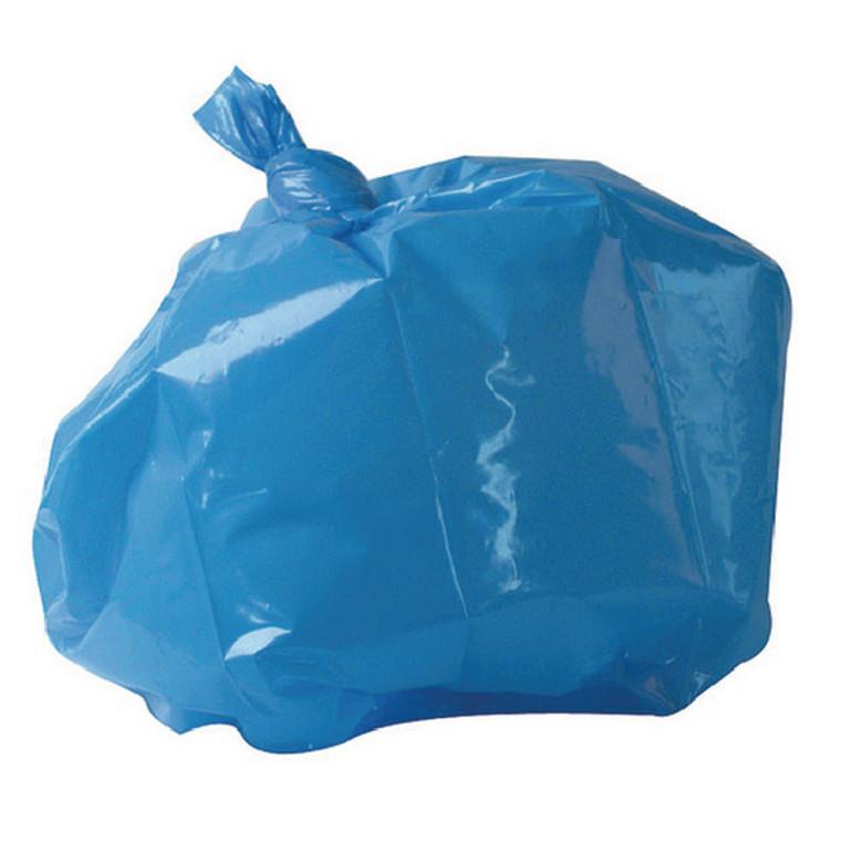 RY15521 2Work Medium Duty Refuse Sack Blue Pack 200 RY15521