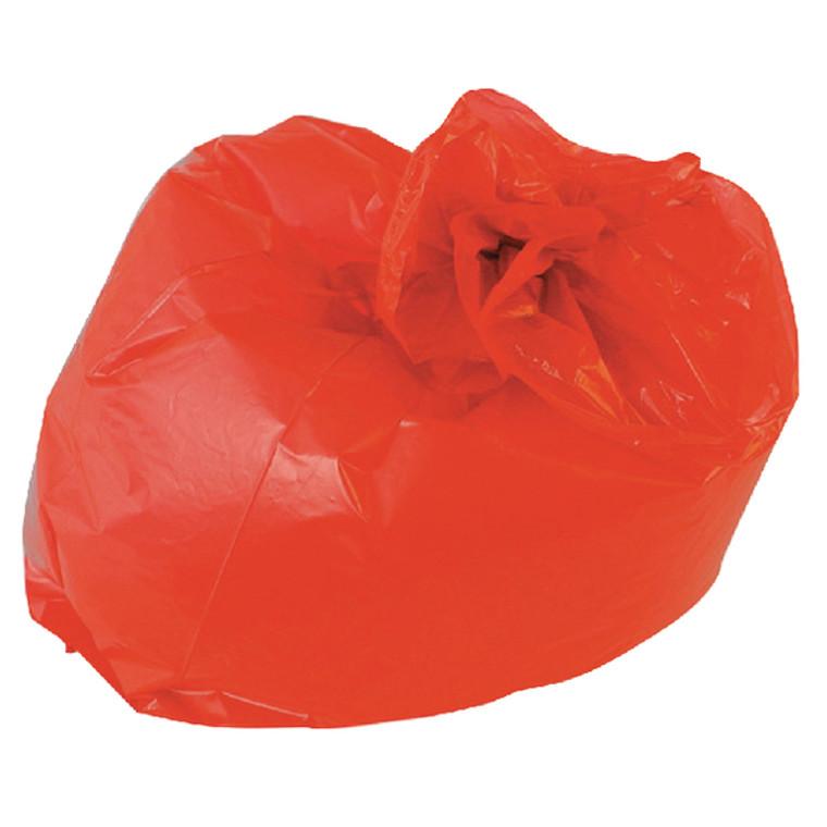 RY15541 2Work Medium Duty Refuse Sack Red Pack 200 RY15541
