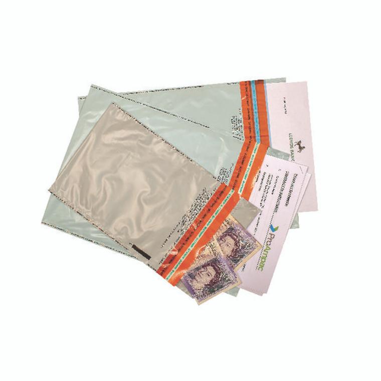 PB36487 Ampac C5 Envelope 165x260mm Tamper Evident Security Opaque Pack 20 KSTE-1