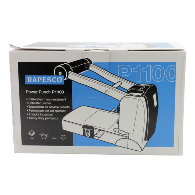 HT14003 Rapesco P1100 Heavy Duty Two-Hole Punch 0247