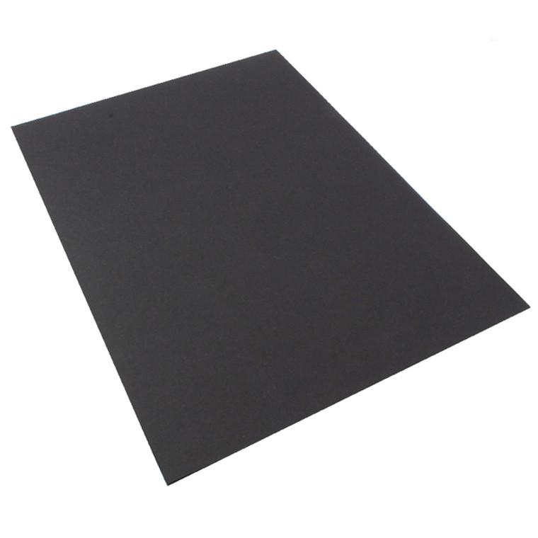 RI21011 A4 Coloured Card 210gsm Black Pack 20 KHR121011