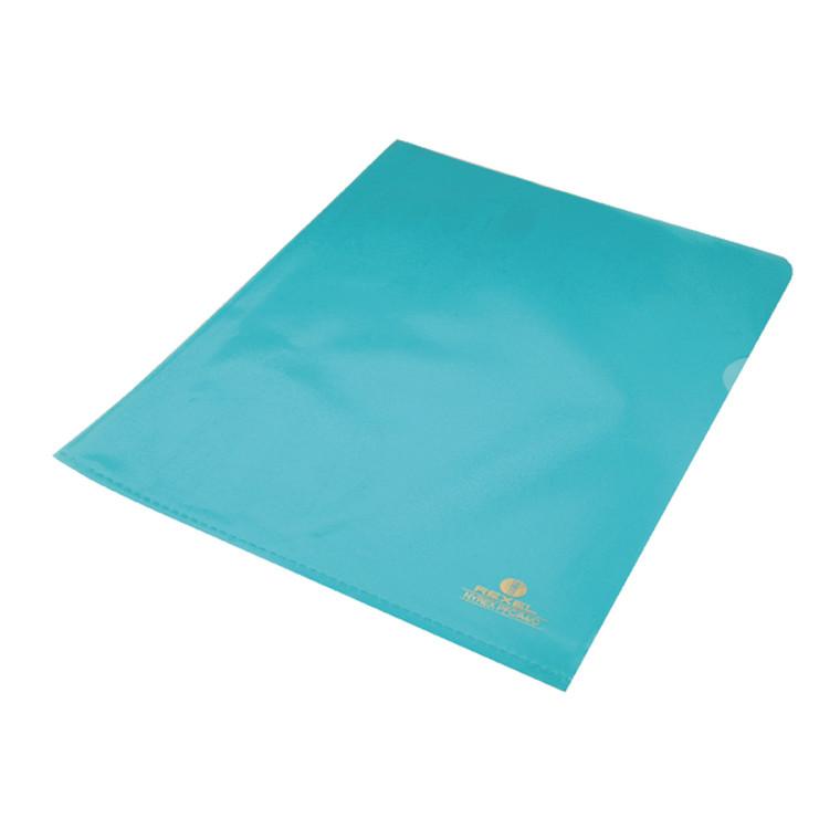 RX12161BU Rexel Nyrex Cut Flush Folder A4 Blue Pack 25 12161BU