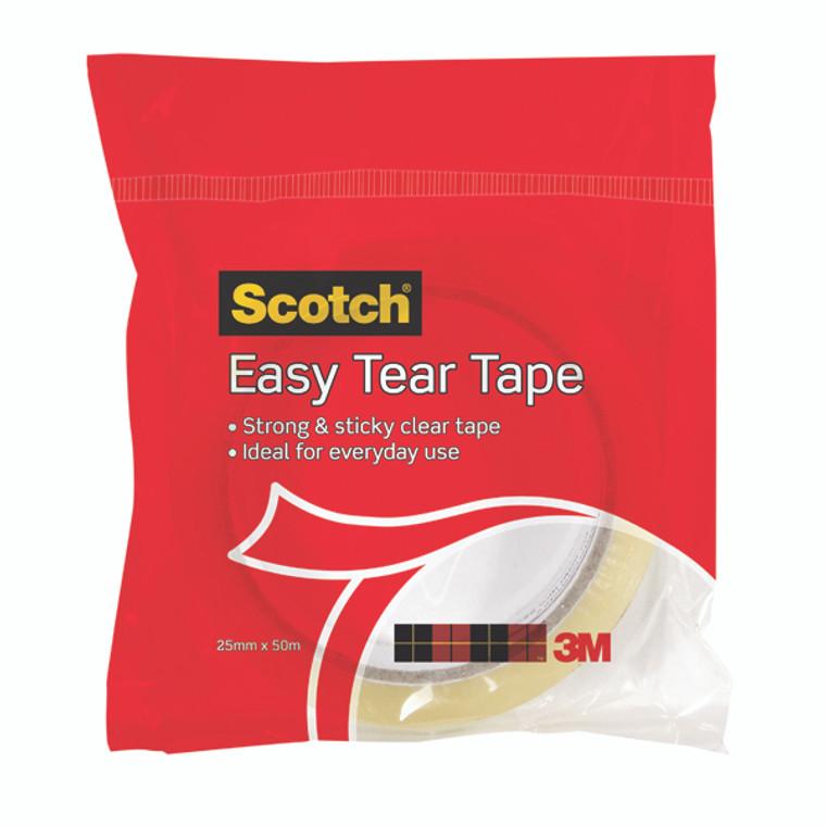 3M83536 3M Scotch Easy Tear Clear Everyday Tape Single Roll GT500077224