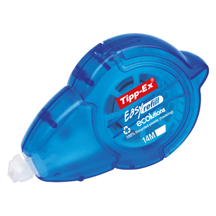 TX17013 Tipp-Ex Easy Refill Ecolutions Correction Roller Pack 10 879435