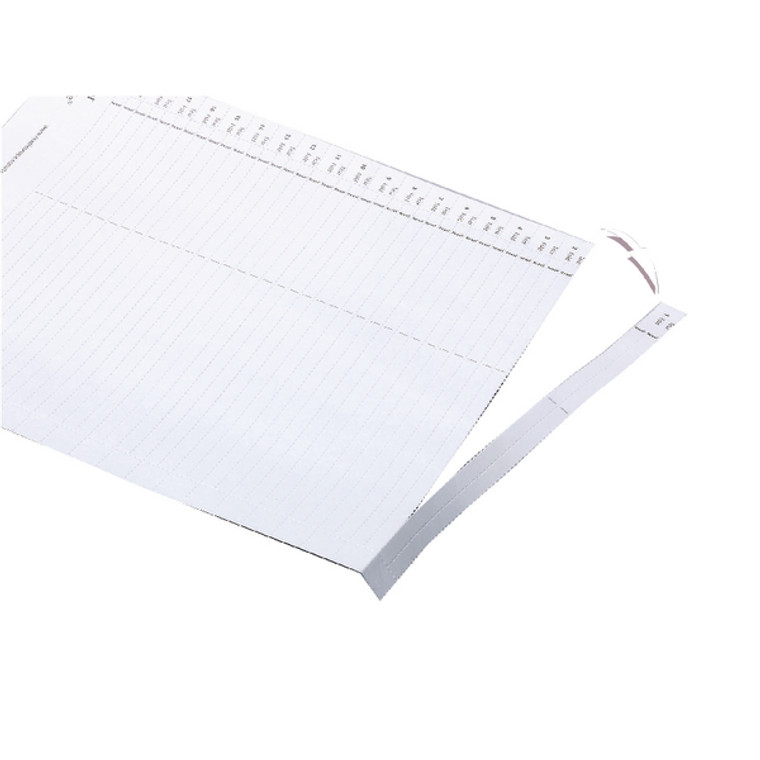 TW78370 Rexel Crystalfile Lateral 275 Tab Inserts White Pack 50 78370