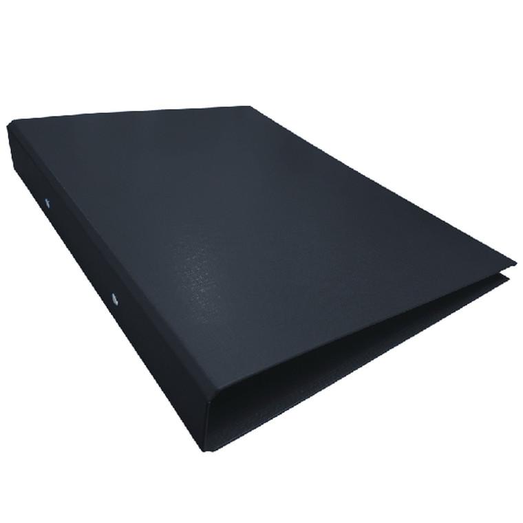 WX02005 Black A4 2-Ring Ring Binder 25mm capacity Pack 10 WX02005