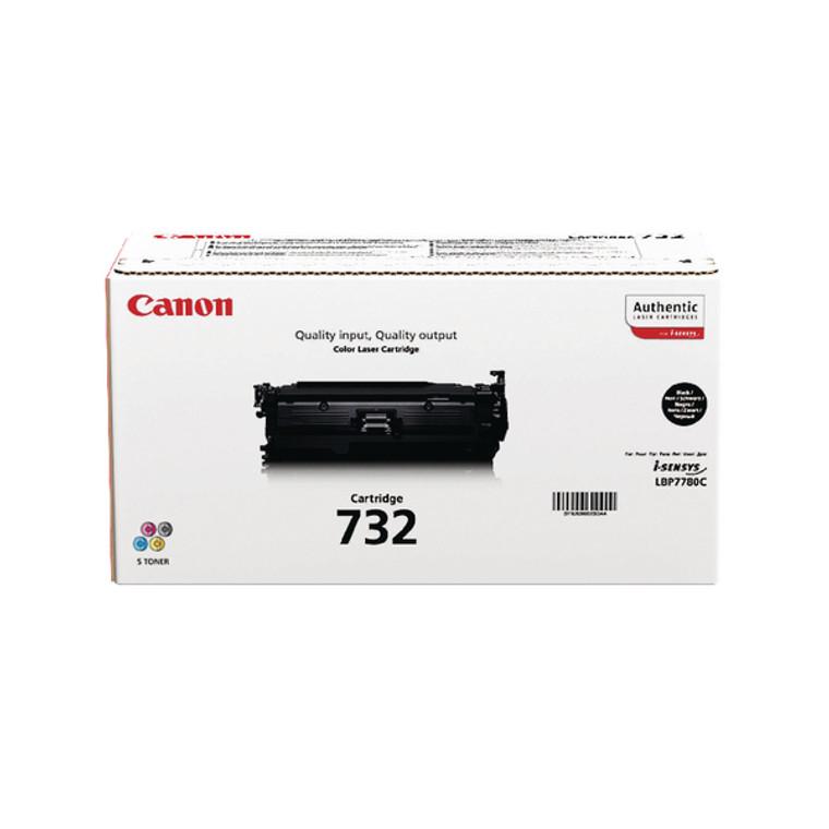 6264B002 Canon 6264B002 732 BK Black Toner High Capacity