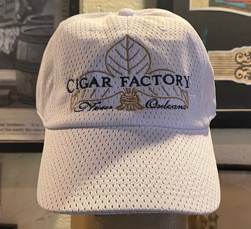 Cigar Factory White Hat