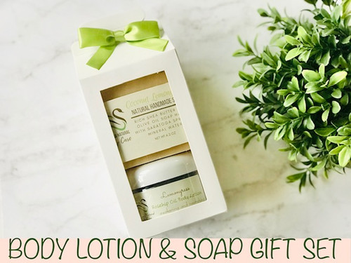 Body Lotion and Soap Gift Set