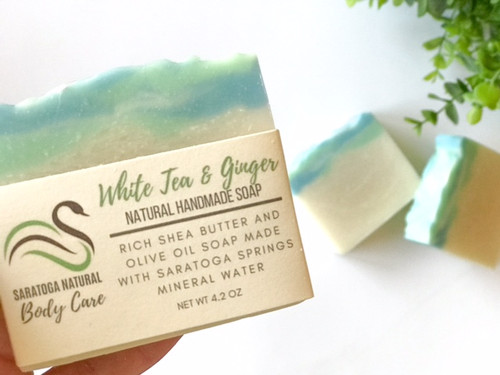 White Tea & Ginger Soap *Hydrating *Nourishing