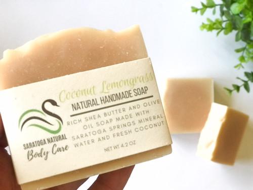 Coconut Lemongrass Soap *Made with Coconut Milk