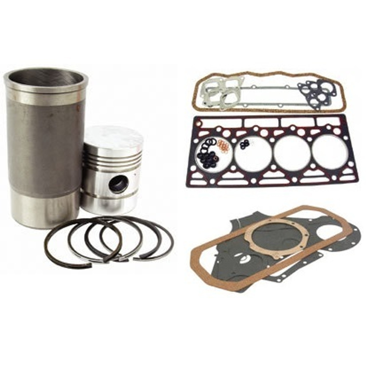 Piston and Gaskets