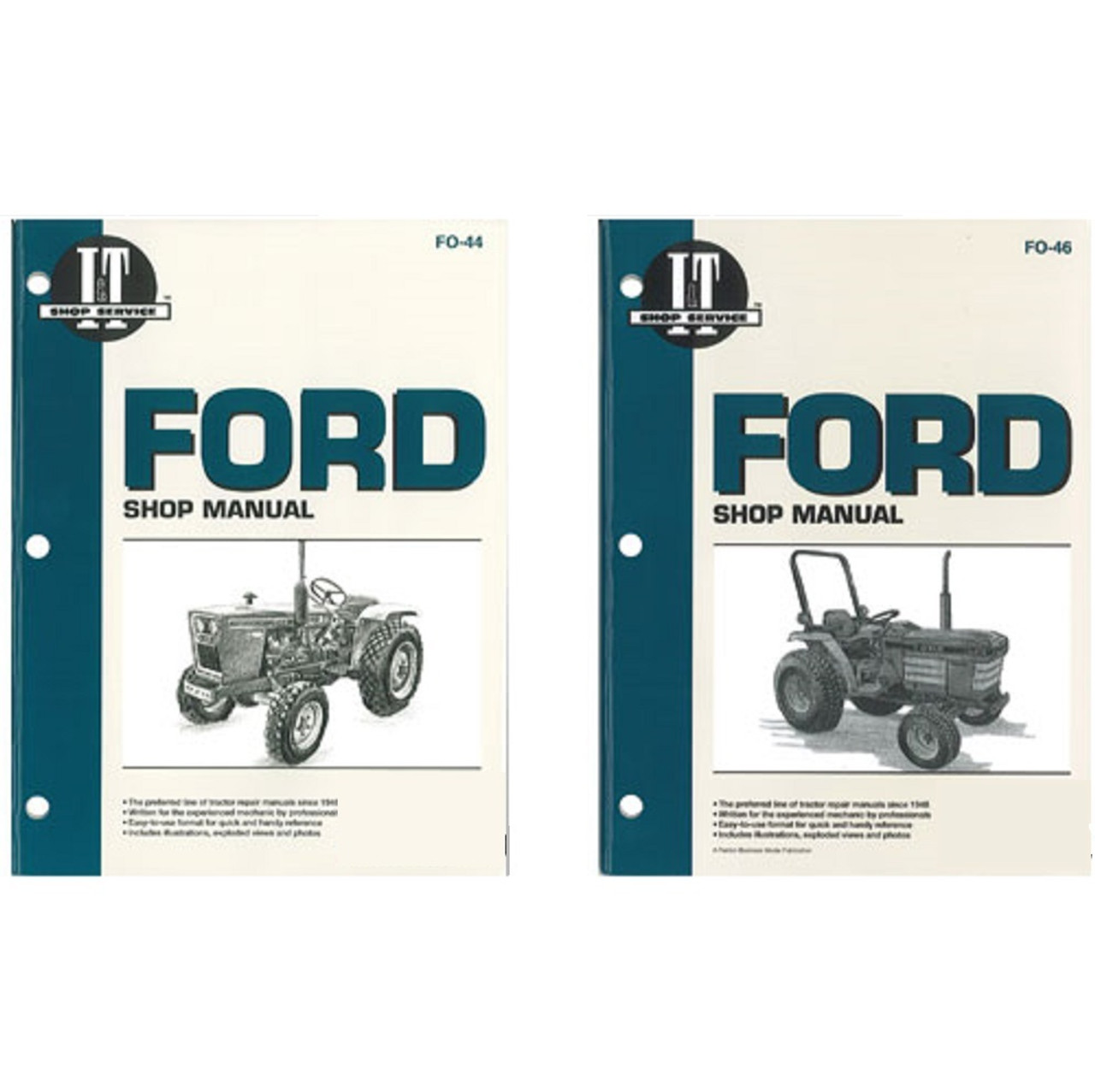 Ford Compact Tractor Parts | BrokenTractor.com on