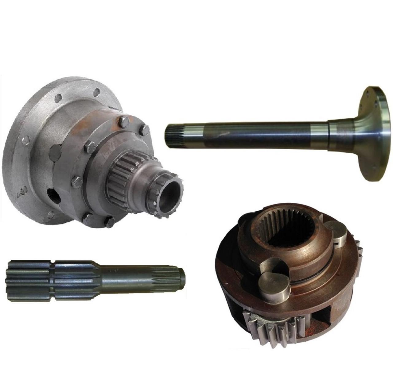 John Deere Backhoe Parts | John Deere Backhoe Used Parts | Broken