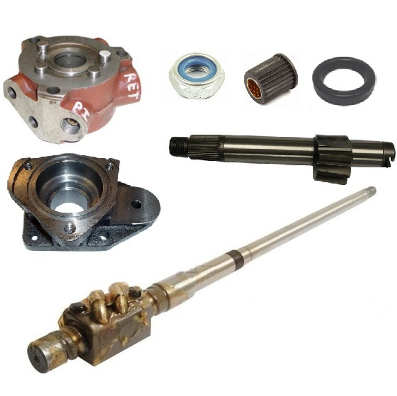 Steering Gearbox and Parts (Power Steering)