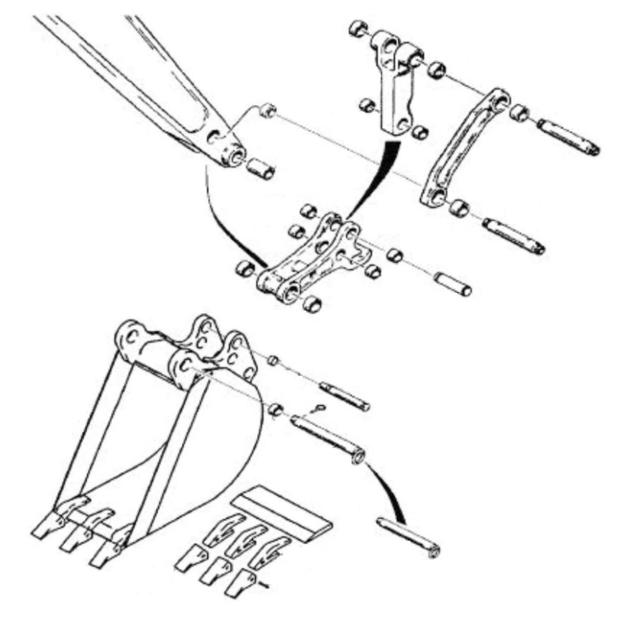 Case Construction Parts
