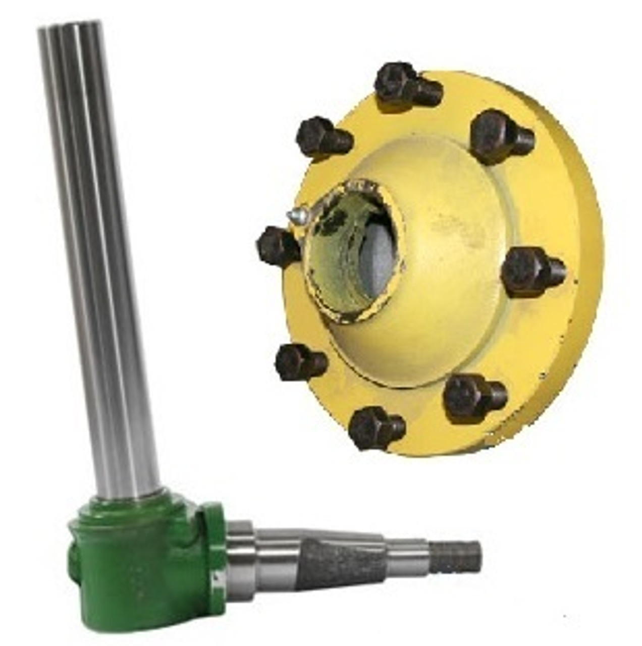 Spindle and Hub - 2WD