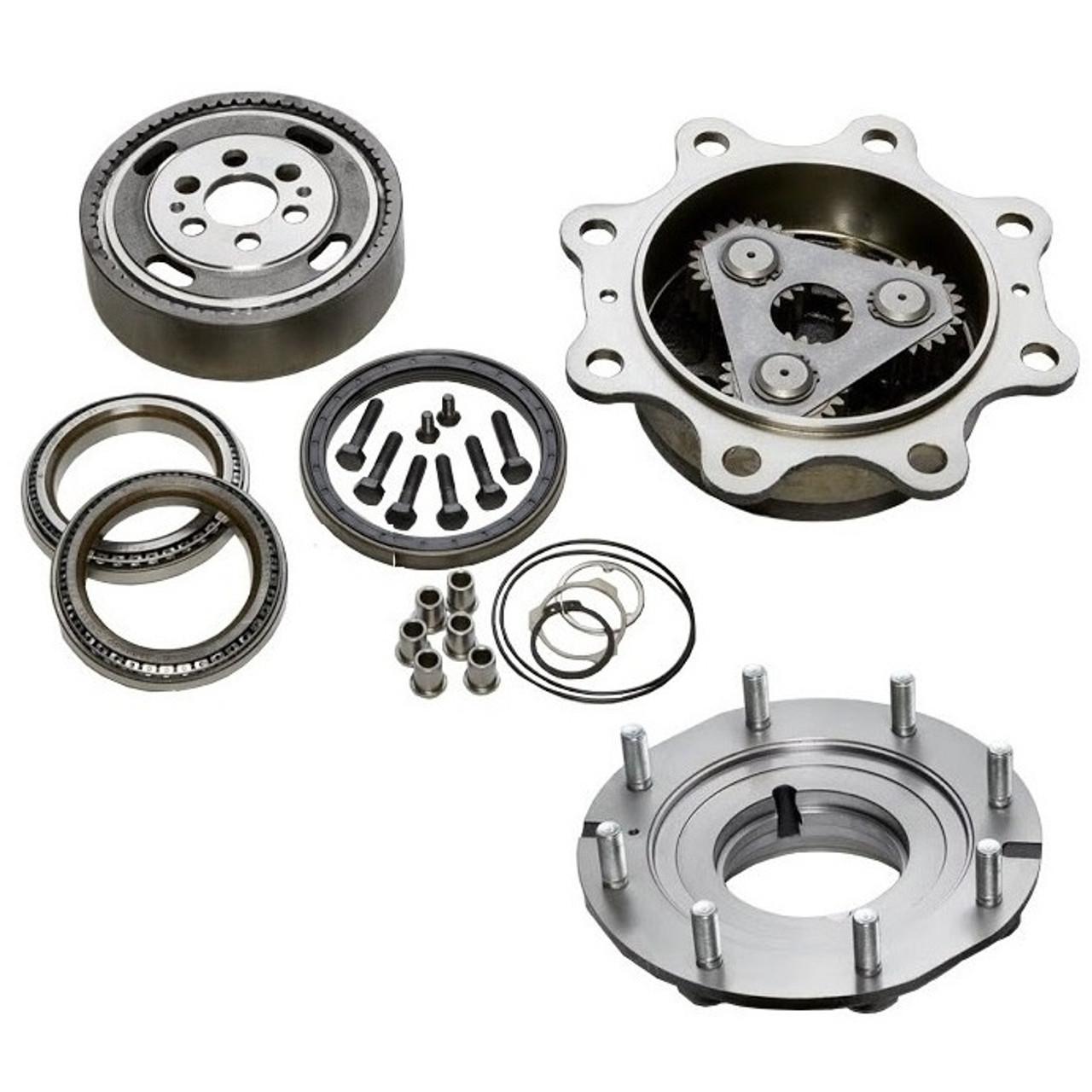 Case 580L, 580M, 580 Super L, 580 Super M Front Axle Parts- Four