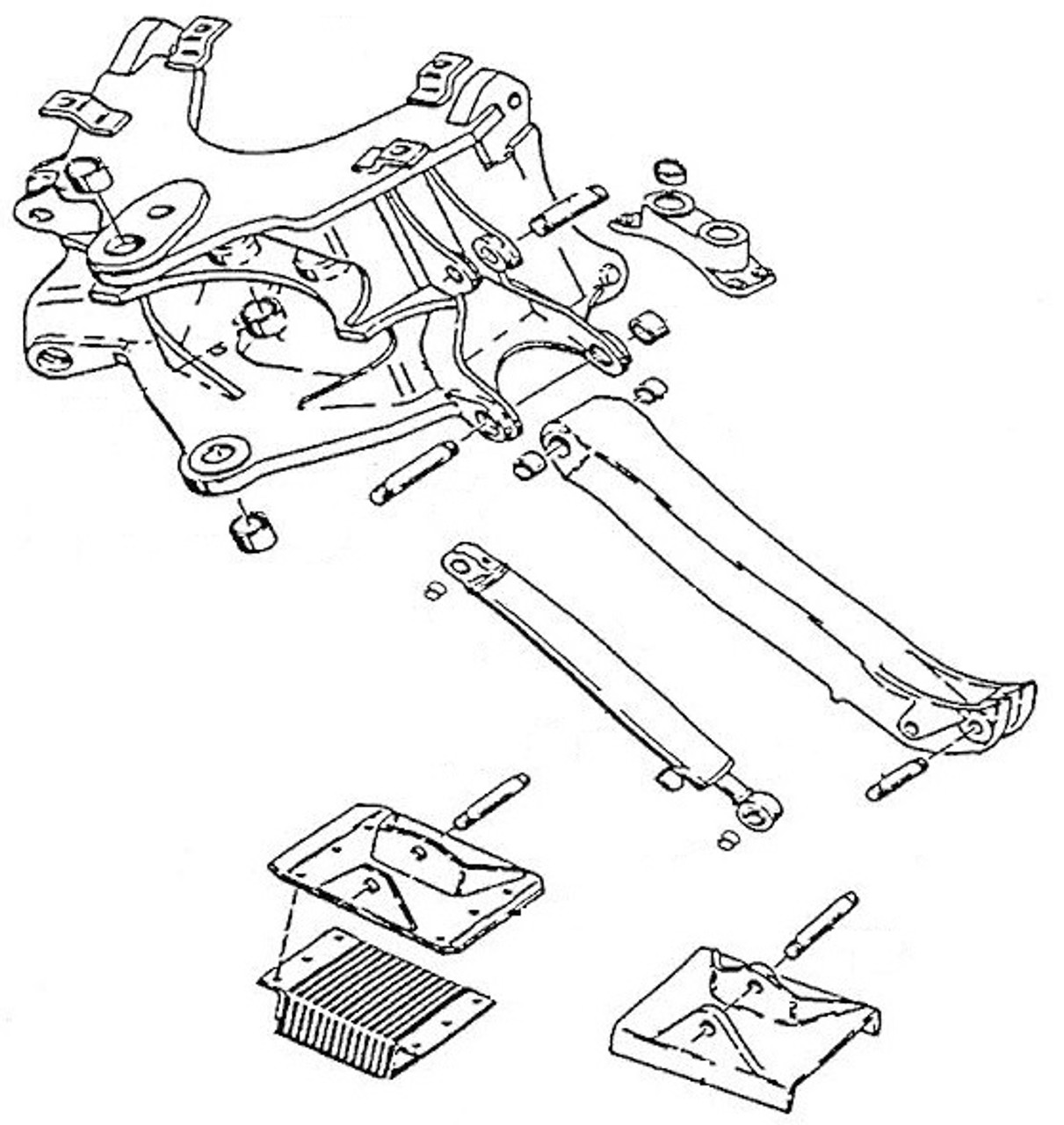Case Construction Parts