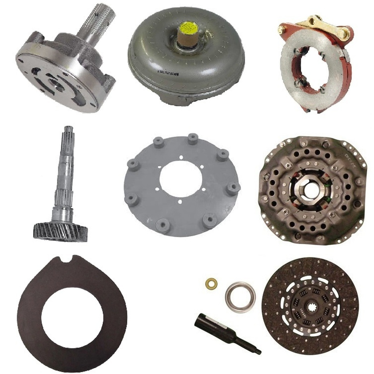 Transmission, Brakes, Clutch