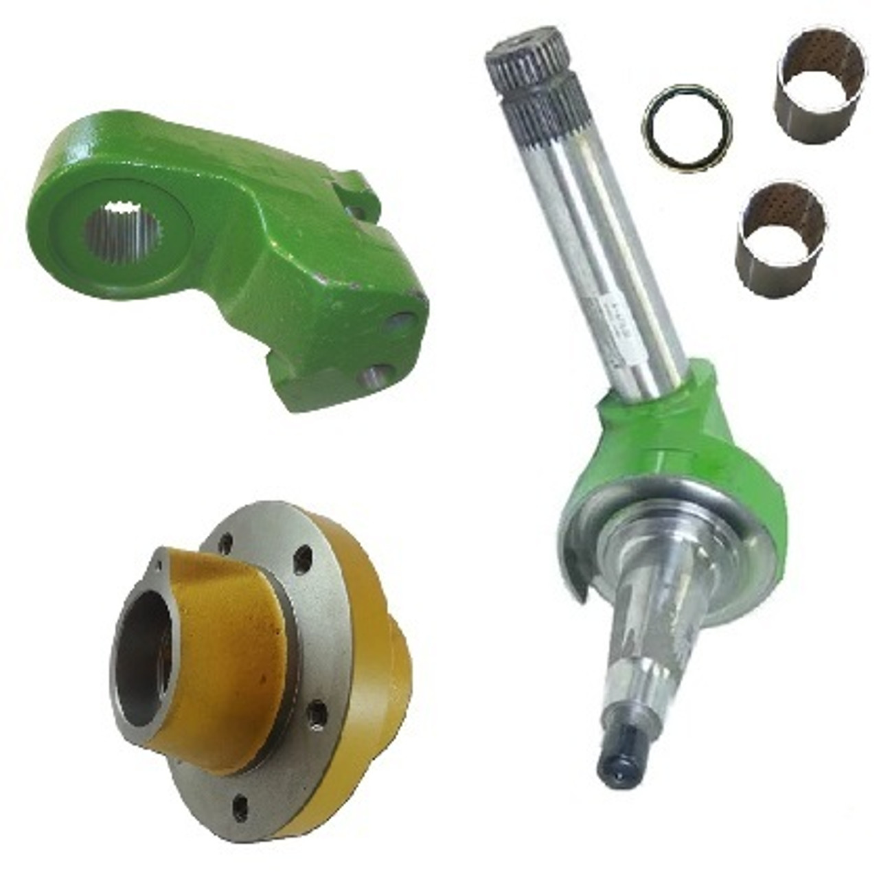 Front Axle & Steering Parts (2-Wheel Drive)