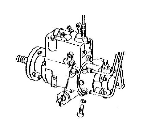 John Deere Fuel Injection Pump Backhoes 300 300A 300B